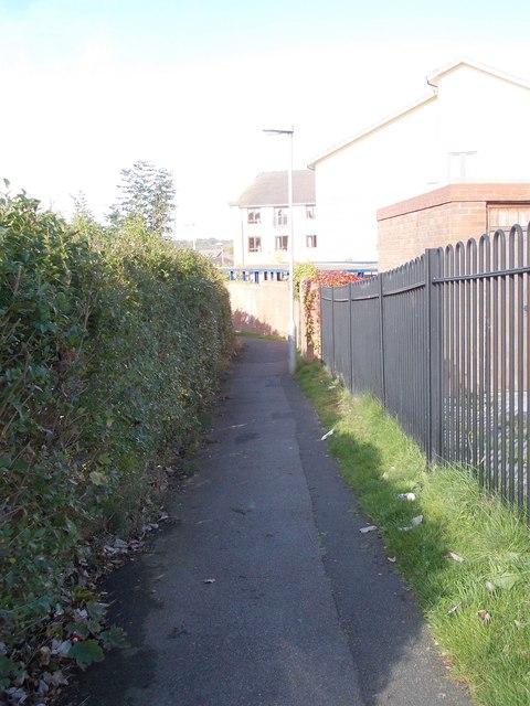 Footpath - Tynwald Hill