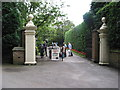 SJ8969 : Gawsworth Hall entrance by Peter Turner