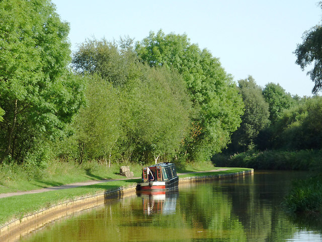 Trent and Mersey Canal by Harding's Wood, Staffordshire