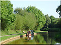 SJ8354 : Trent and Mersey Canal by Harding's Wood, Staffordshire by Roger  Kidd