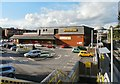 SJ8194 : Chorlton Morrison's and Metrolink Station by Gerald England