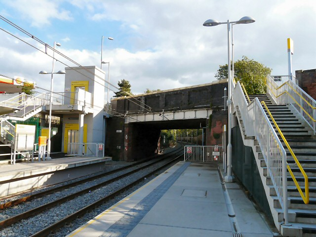 Chorlton Metrolink station