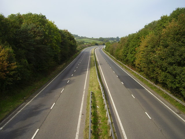 The A30 at Ide