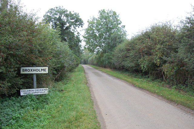 Entering Broxholme