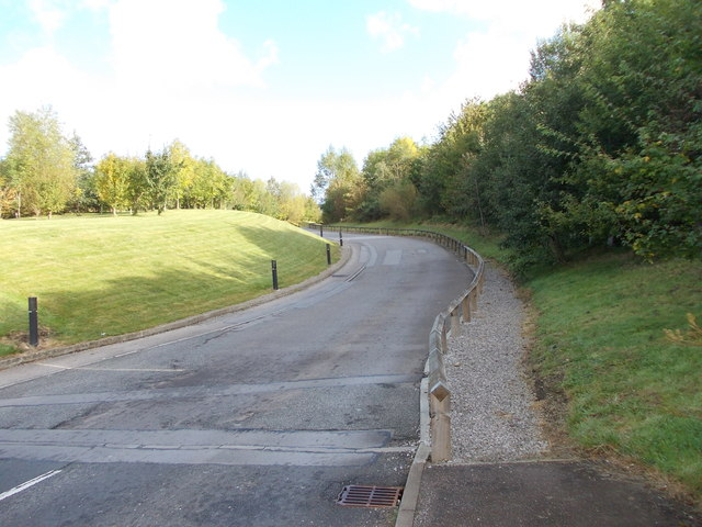Driveway to David Lloyd Sports Centre - Tongue Lane