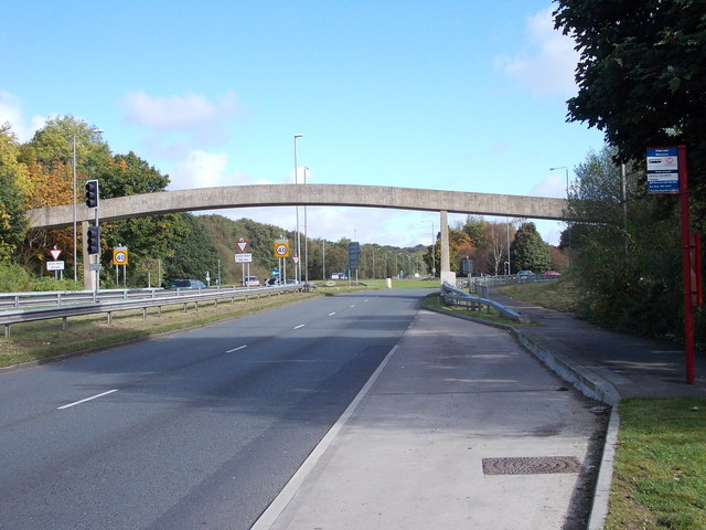 Footbridge - Ring Road, Moortown