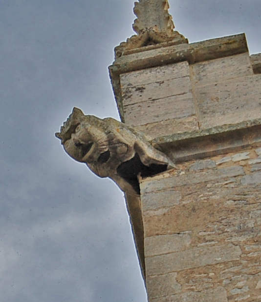 Gargoyle, St Wilfred's church, Metheringham