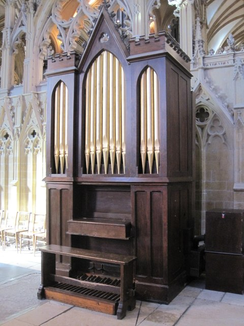 Organ in retro-choir, Lincoln Cathedral