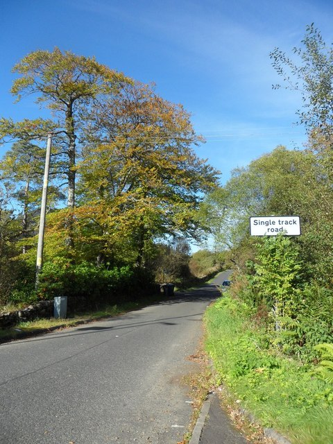 Glen Fruin Road at Crosskeys