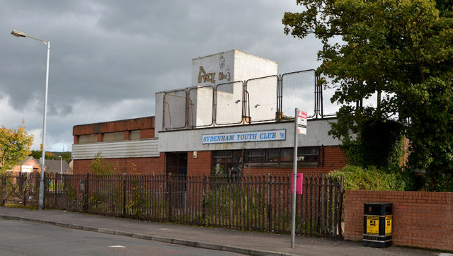 Former Sydenham youth club, Belfast (1)