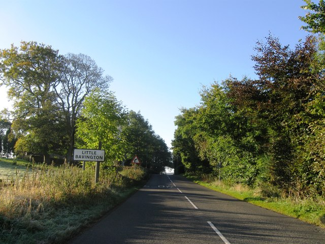 Entrance to Little Bavington