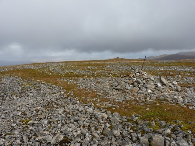 Summit area of Meall Buidhe