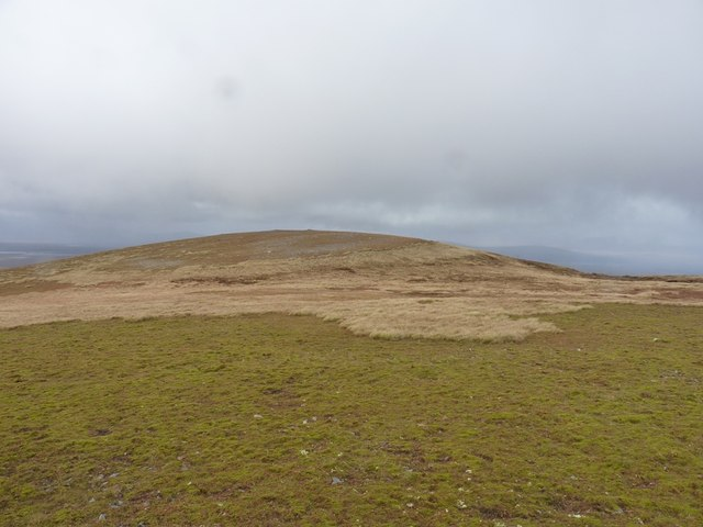 The summit area of Meall Buidhe