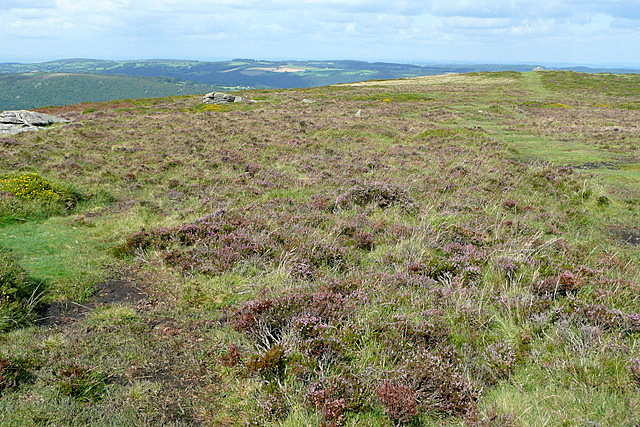 The path on Black Hill