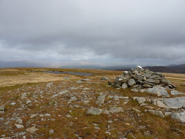 Summit cairn - Meall Buidhe