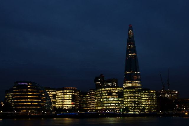 View Towards the Shard, London