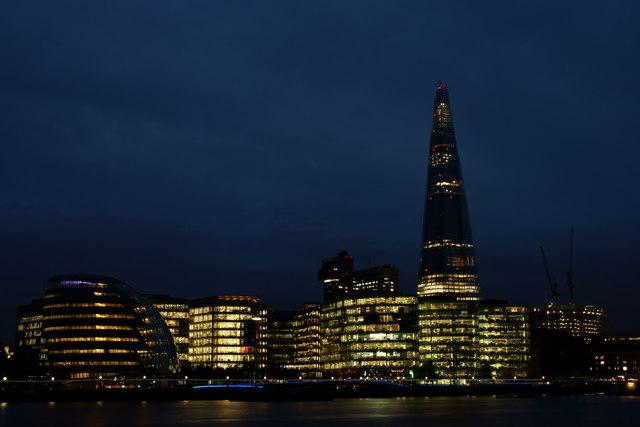 View Towards the Shard, London