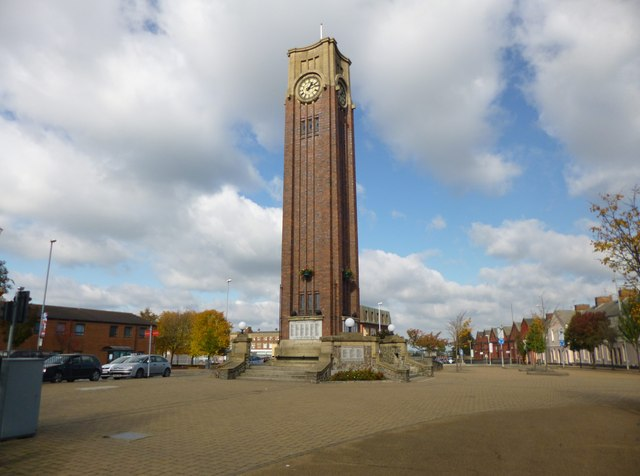 Coalville, clock tower