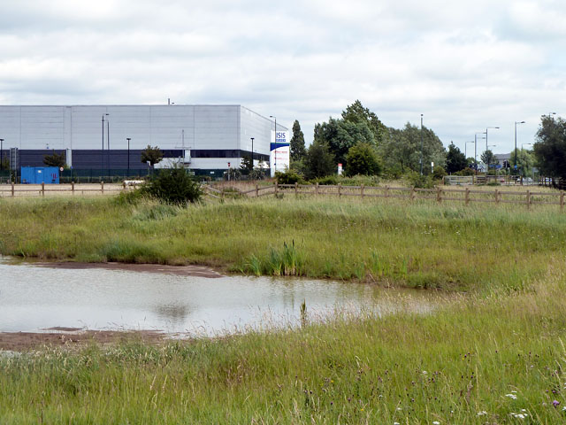 Pond and Warehouse