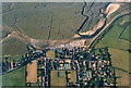 TF8444 : Burnham Overy Staithe, aerial 2003 by Chris
