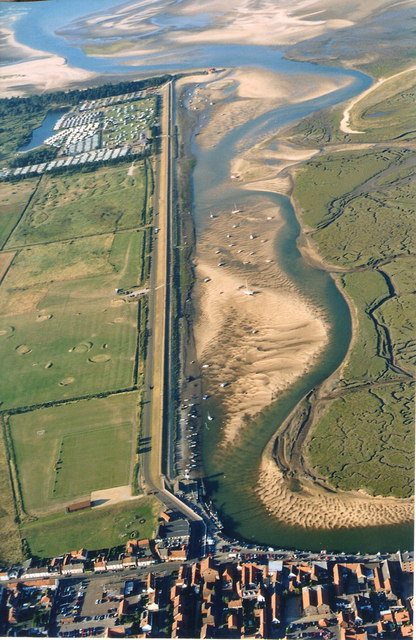 Wells next the Sea: aerial 2003