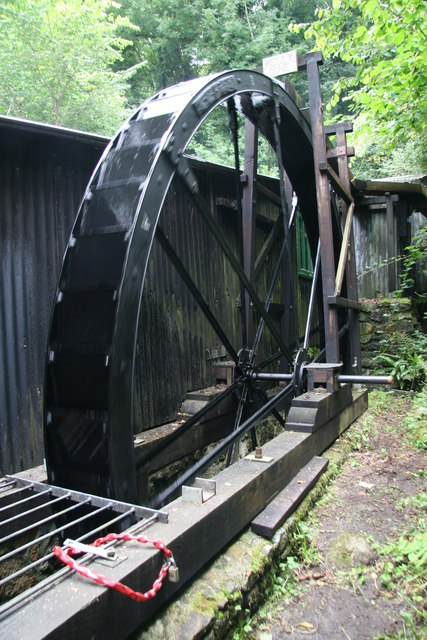 Kelly Mine - waterwheel