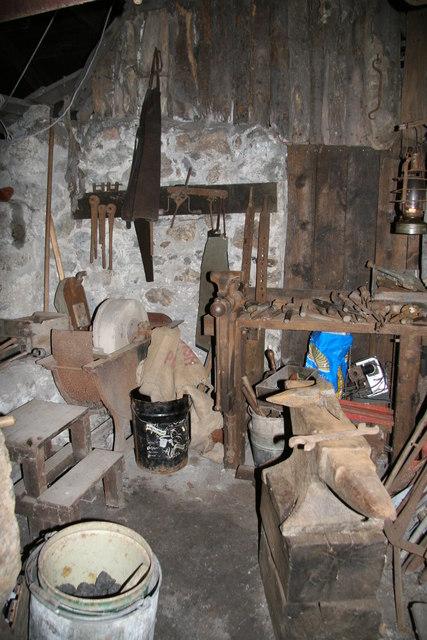 Kelly Mine - forge