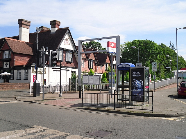 Entrance to Balloch Railway Station