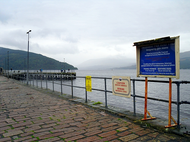 Notices on Inveraray Pier