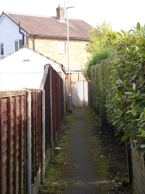 Footpath - King Lane