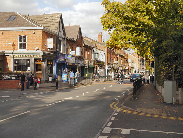 Heaton Moor Shops