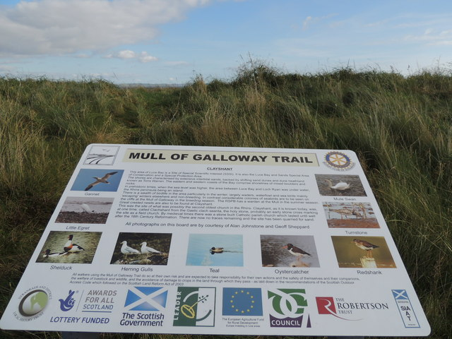 Mull of Galloway Trail, Clayshant