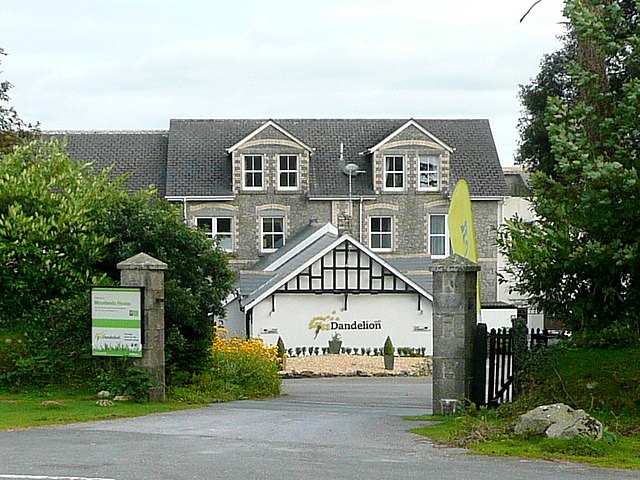 Hotel and cafe at Haytor Vale