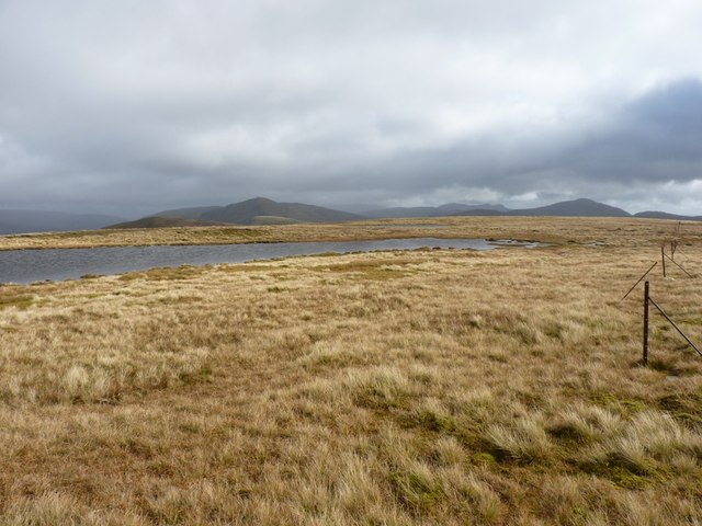 Eastwards across the ridge