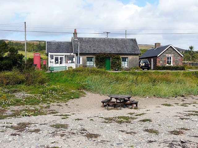 Beach opposite Skipness Post Office