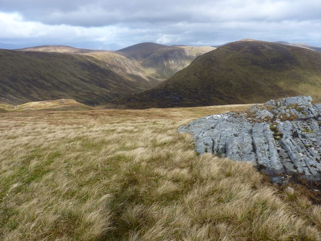 NE view from Meall Phubuill