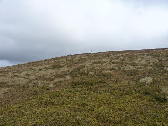 Uphill towards Sròn a' Choire Chnapanich