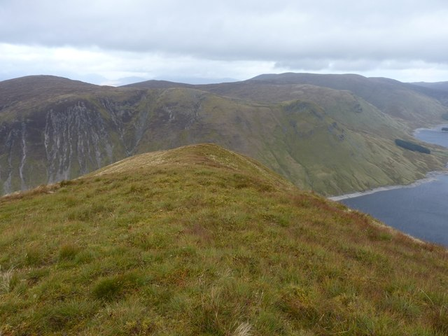 The narrow NNE ridge of Sròn a' Choire Chnapanich