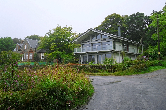 Traditional and modern houses, Skipness
