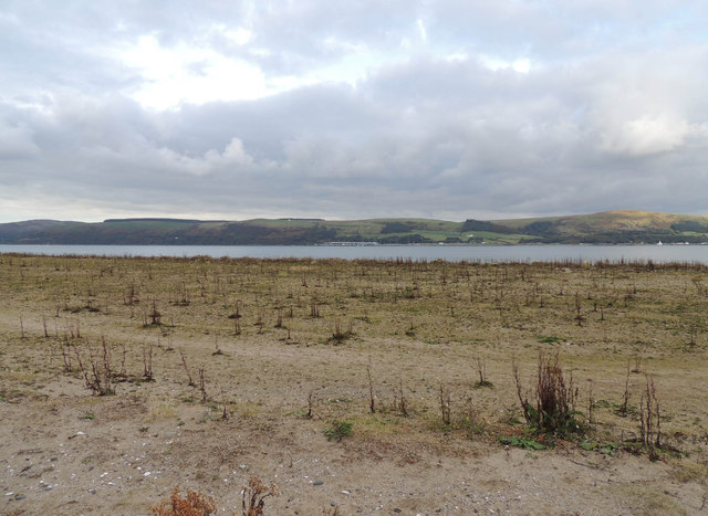 Sand Bank at Loch Ryan
