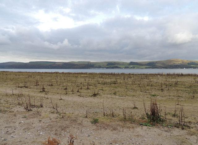 Sand Bank at Loch Ryan