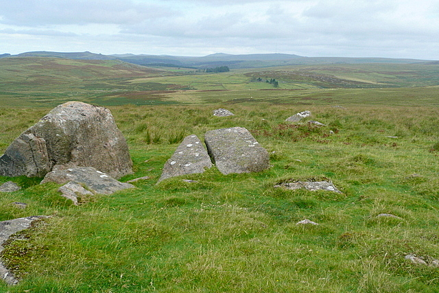 Settlement on Lee Moor
