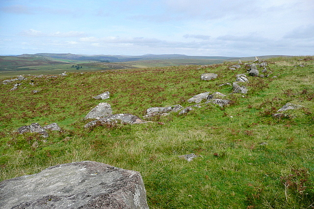 Settlement near Hentor Brook