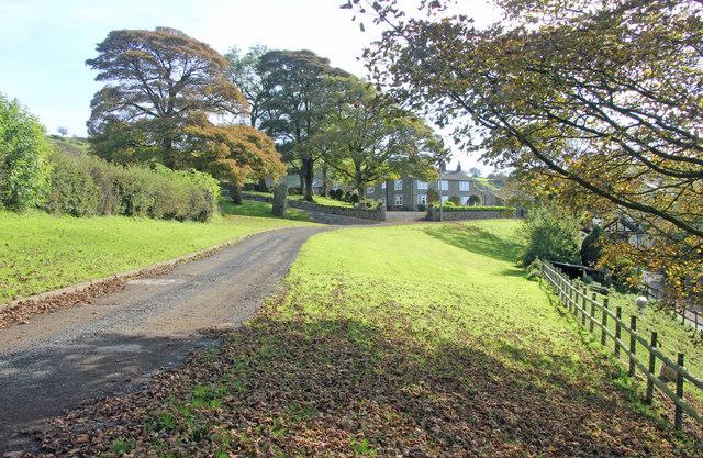 Croker Farm and driveway