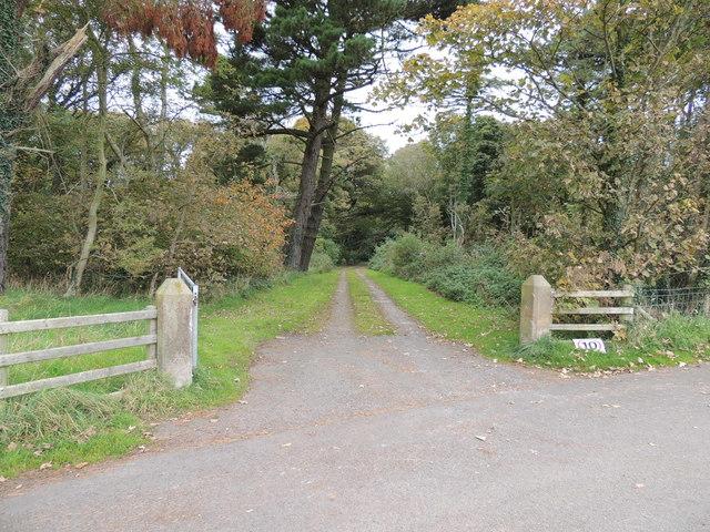 Track into Corsewall