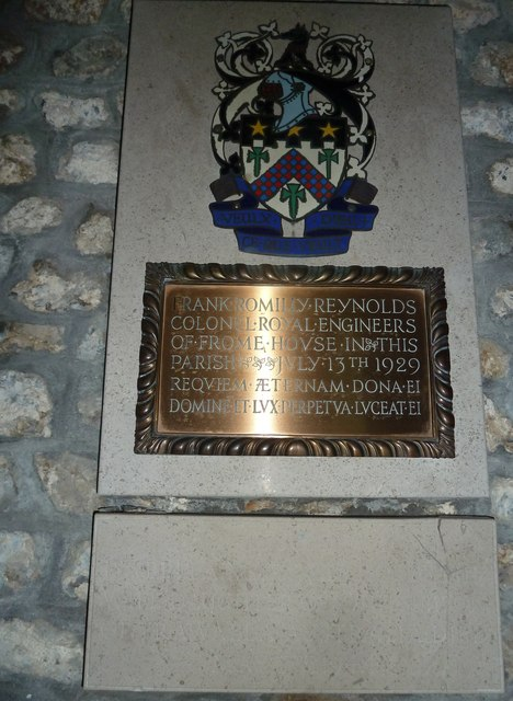 St Mary, Frome St Quinton: memorial (3)