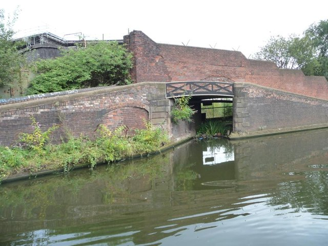 Entrance to the former Soho Foundry Basin