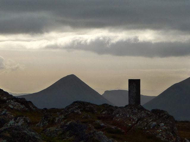 Summit of Dun Caan