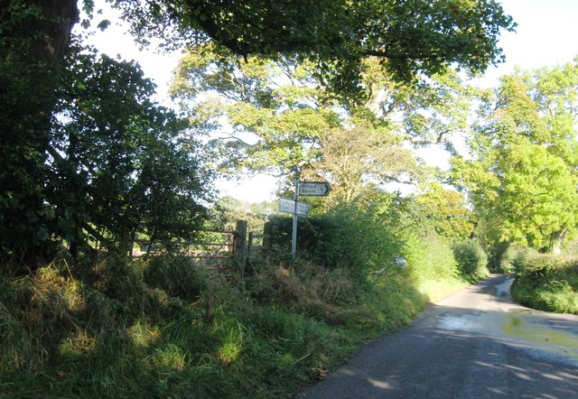Road junction, B6343