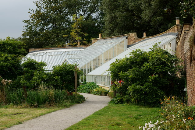 Inside the Walled Garden, Fulham Palace, London